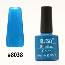 Гель-лак Bluesky Shellac Color 10ml #8038