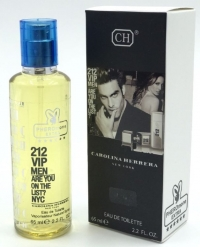 Мини-парфюм 65 ml с феромонами Carolina Herrera 212 VIP Men муж.