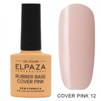 Elpaza Rubber Base Cover Pink, 12