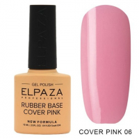 Elpaza Rubber Base Cover Pink, 06