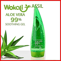 Универсальный гель Aloe Vera 99% Fruit of the Wokali soothing gel