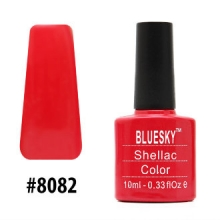 Гель-лак Bluesky Shellac Color 10ml #8082