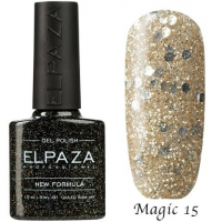 Гель-лак Elpaza Magic, ГАЗИРОВКА 15