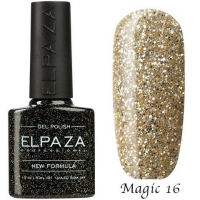Гель-лак Elpaza Magic, БЕЛОЕ ЗОЛОТО 16