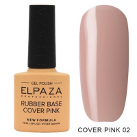 Elpaza Rubber Base Cover Pink, 02